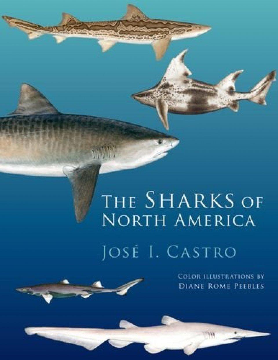 Sharks of North America book Jose Castro