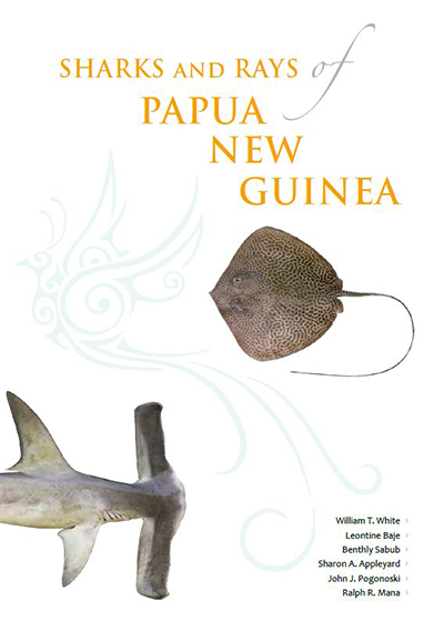 Sharks and Rays of Papua New Guinea Book